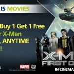 >TGV: Buy 1 Free 1 Tickets for X-Men