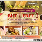 Jogoya Buffet Restaurant, Starhill Gallery: Buy 1 Free 1 Promotion