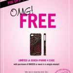 LaSenza: Free Limited Edition iPhone 4 case with Purchase