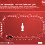 Coke Semangat Truck: Freebies Giveaway