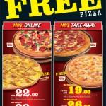 Pizza Hut: Buy 1 Free 1 Pizza