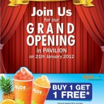 Juice Works: New Opening Buy 1 Free 1 Promotion