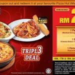 Pizza Hut: Triple Deal Coupon