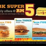 Burger King: Super RM5 Offers