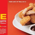 McDelivery: Free 20pcs Chicken McNuggets Coupon