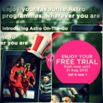 Astro On-The Go: Watch LIVE sports now for Free!!