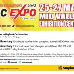 PC Expo 2012: Free Starbucks Vouchers Giveaway