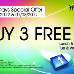 Jogoya: Buy 3 Free 2 Lunch and Supper Promotion