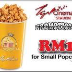 TGV Cinemas: Selling Popcorn @ RM1 only!!