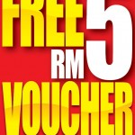 Guardian: Free RM5 Cash Voucher with Purchase