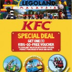 KFC: Free Kids-Go-Free Voucher to Legoland Malaysia