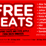 Air Asia: Free Seat Promotion