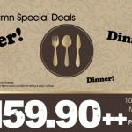 Jogoya Buffet Restaurant: Mid Autumn Dinner Special Deals