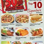 Vivo Pizza 1 Day Promotion: All Menu Items @ Half Price!!