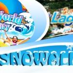 I-City Water World Theme Park + Snowalk + Sunway Lagoon: Entrance Ticket @ 50% Discount!!