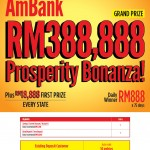 AmBank Customers: Win RM388,888 CASH Prizes!!