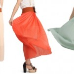 Sashay and Sway: Elegant and Stylish Colourful Long Skirt @ RM19 only!!