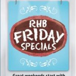 RHB Friday Special: Redeem Free Items (Kenny Rogers Roaster, Starbucks and Popular BookStore Voucher)!!