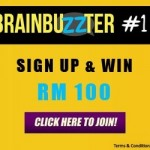 Brainbuzzers: Sign Up Now and Win RM100!!