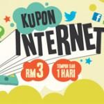 DiGi: Free Kupon Internet 150MB for Redemption!!