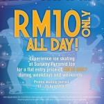 Sunway Pyramid Ice: Experience Ice Skating @ RM10 only!!