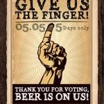 Morganfield: Free Beer (Carlsberg) Giveaway!!