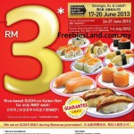 Sushi King: RM3 Bonanza @ ALL Outlets