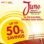 KFC June Breakfast Promotion: Print and Enjoy Free Online Coupons!!