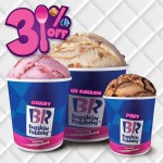 Baskin Robbins Merdeka Special: Enjoy 3 Days 31% Sale!!