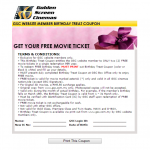 Golden Screen Cinemas GSC Birthday Treat: 2 FREE Movie Tickets Giveaway!!