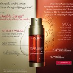 Clarins: Free 7-Day Trial Suppy of Double Serum Samples Giveaway!!