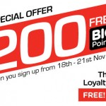Air Asia BIG: Sign Up Now and Receive Free 200 BIG Points!!