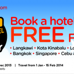 Air Asia Go Promotion: Book a Hotel and Get Free Flights!!