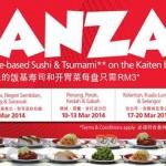 Sushi King Bonanza: Enjoy RM3 for ALL Rice-Based Sushi and Tsunami on Kaiten Belt!!