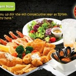 The Manhattan FISH MARKET: Enjoy Giant Fried Platter OR Flaming Seafood Platter for 2 People for only RM49!!