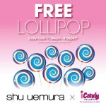 Shu Uemura: Enjoy Free Lollipop Giveaway!!