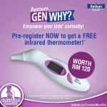 FREE Anmum Infrared Thermometer worth RM120 Giveaway!!