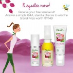 Melvita Organic Pulpe De Rose FREE Samples Giveaway Malaysia Promotion!!