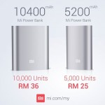 Xiaomi 5200 mAH Mi Power Bank for SALE by Xiaomi Malaysia