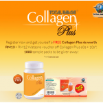 Total Image Malaysia Promotion: Deliver Free Collagen Plus Samples to Doorstep!!