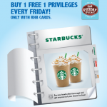 Starbucks RHB Bank Buy 1 Free 1 Promotion 2014