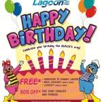 Sunway Lagoon Malaysia Promotion Birthday Treat: Enjoy Free Entrance Ticket Giveaway Promotion