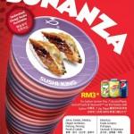 Sushi King Bonanza Malaysia Promotion: Enjoy RM3 for ALL Rice-Based Sushi and Tsumami on Kaiten Belt!!