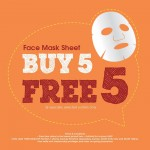 The Face Shop Malaysia Promotion Buy 5 Free 5 Face Mask Sheet Oct 2014