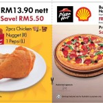 KFC and Pizza Hut FREE Discount Voucher Giveaway Promotion Malaysia 2014 / 2015