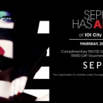 Sephora FREE RM100 Gift Voucher Giveaway Malaysia Promotion