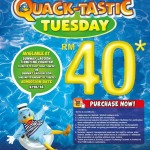 Sunway Lagoon ALL Parks Tickets for only RM40 Promotion 2014