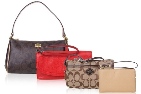 [Up to 58% Off] Coach Wristlets, Handbags, & Passport Cases from RM189
