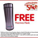 FREE Thermos Flask Giveaway Promotion Caring Malaysia