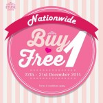 Etude House Malaysia Outlets Nationwide Buy 1 FREE 1 Promotion!
